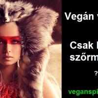 Vegán vagyok, csak a vegán elveket nem tartom!