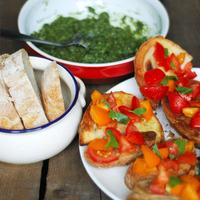 piac és olasz ihletésű reggeli