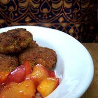 fűszeres vöröslencsefasírt