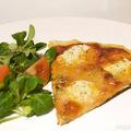 rozmaringos, kecskesajtos pizza