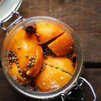 marokkói sóban eltett citrom