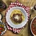 Vegán, lencsés bolognai spagetti