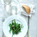 francia zöldbab saláta