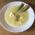 Nyári kovászos leves tárkonnyal