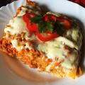 Karotinos - szójás lasagne