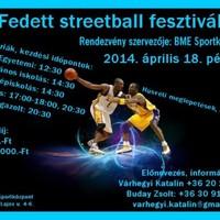 Fedett streetball fesztivál