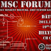 MSc Fórum 2013