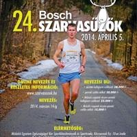 Bosch Szarvasűzők 2014 országos egyetemi-főiskolai váltófutóverseny