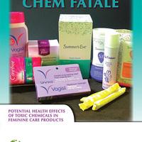 Vegyszerek a női higiéniai termékekben – rákkeltő tampon?