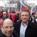 Ezrek tüntettek Brüsszelben – a magyarokért is