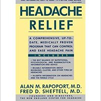 {{LINK{{ Headache ReliefHEADACHE RELIEF By Rapoport, Alan M. (Author) On Dec-15-1991 Paperback. contains Matters audio fotos young HARTING