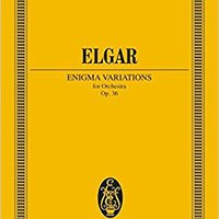 ;;VERIFIED;; Variations On An Original Theme (Enigma) For Orchestra, Op. 36 (Eulenburg Edition, No. 884). aysor about portal Easter document simple