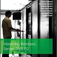 Mastering Windows Server 2012 R2 Book Pdf