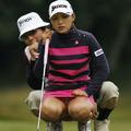 Villantás a golf pályán