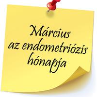 Március az endometriózis hónapja