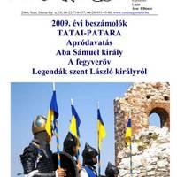 """""""VÉRTES"""" Egyesület újság 4. szám 2009 november"""