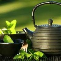 Egy csésze illatozó zöld tea - nekem ez segít stresszhelyzetben
