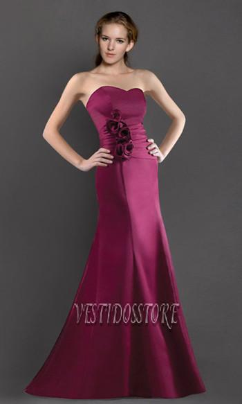 f1fdc9b790b09 Vestidos de damas Corte Sirena - vestidos de fiessta baratos