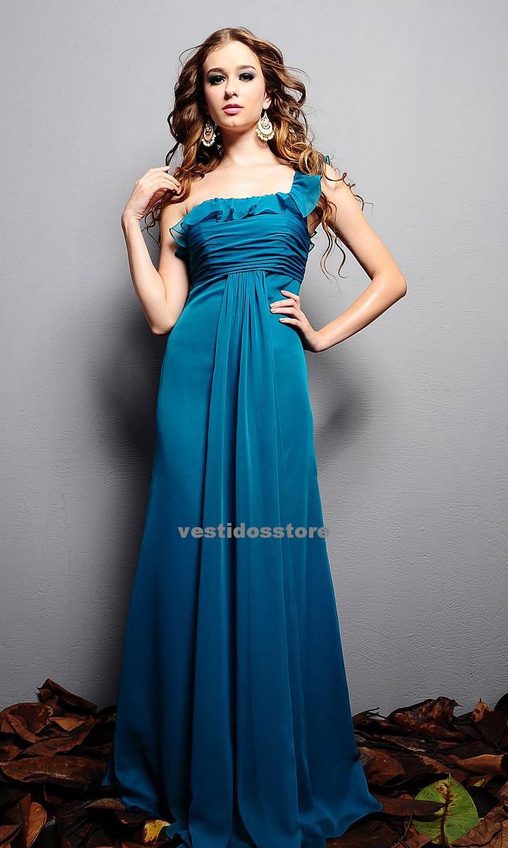 3c9fc8f27 Vestidos de dama de honor azules para bodas 2012 - Vestidosventa online