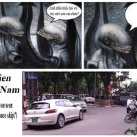 Találós kérdés - Alien vs. VW Scirocco