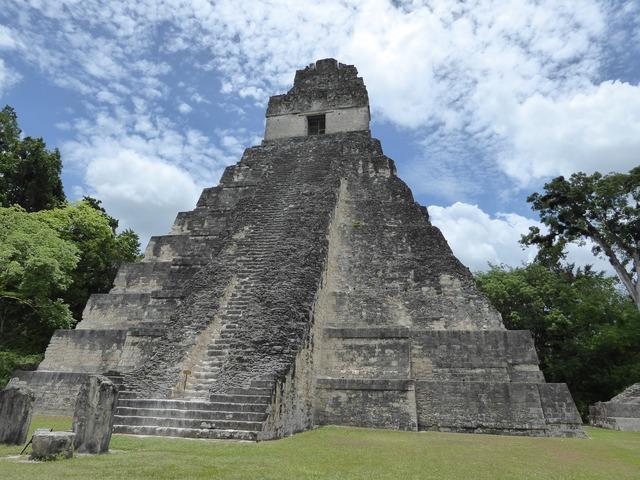 200 hely, amit látnod kell: Tikal, Guatemala