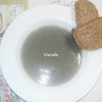 Érdekes színű két fogásos vegán ebéd