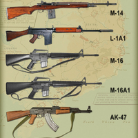 A vietnami háború harceszközei: hadipuskák és gépkarabélyok