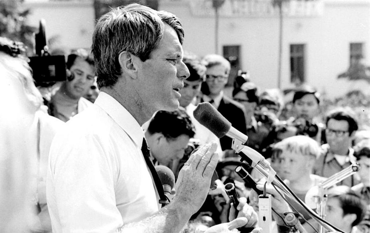 Bobby Kennedy a vietnami háború ellen szólalt fel