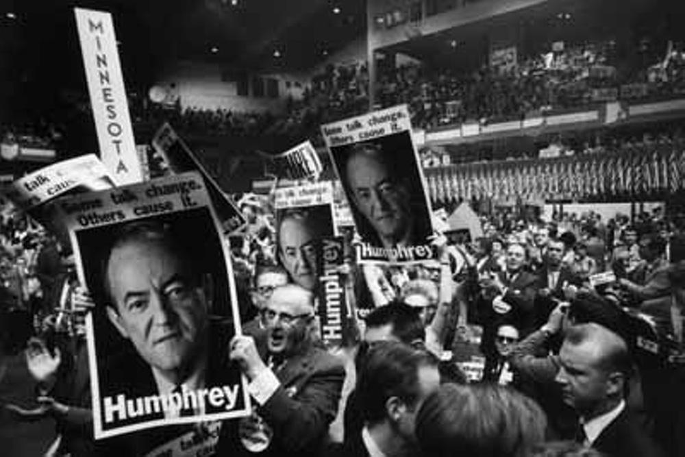 Humphrey támogatói