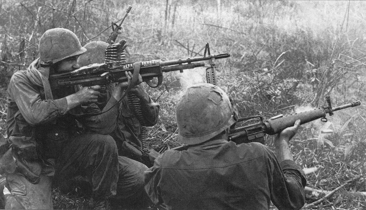 Tűzharc Phu Bai környékén, 1968 elején