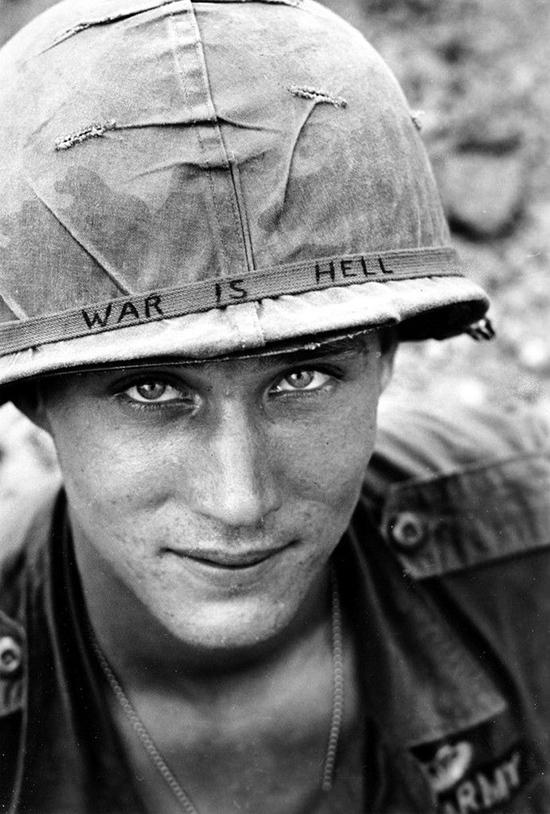'A háború pokol.'