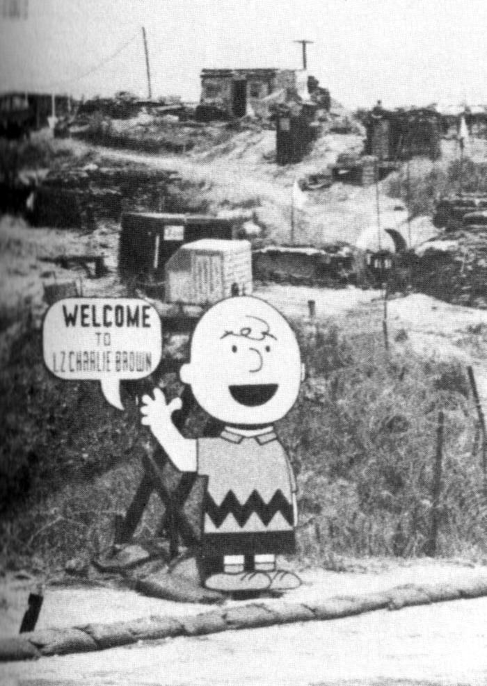 'Isten hozott a Charlie Brown leszállóhelyen!'