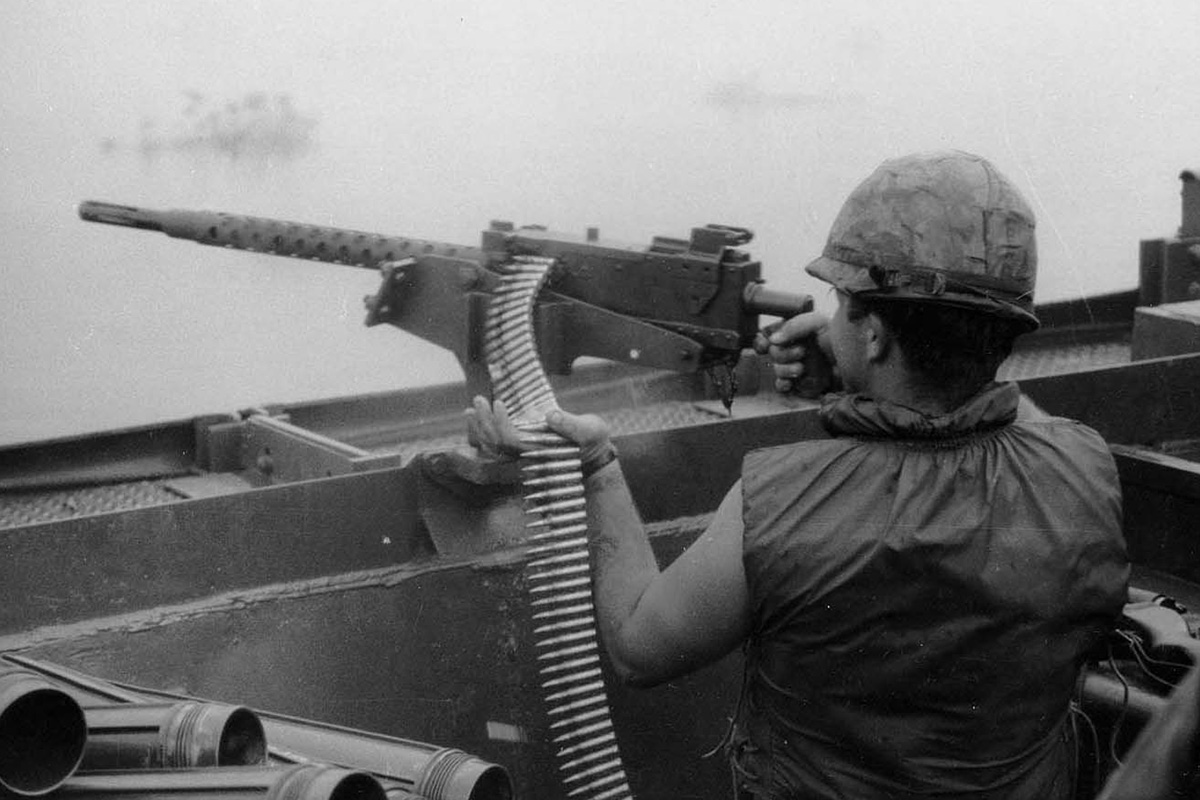 Az M1919A4, röviden a harmincas géppuska.