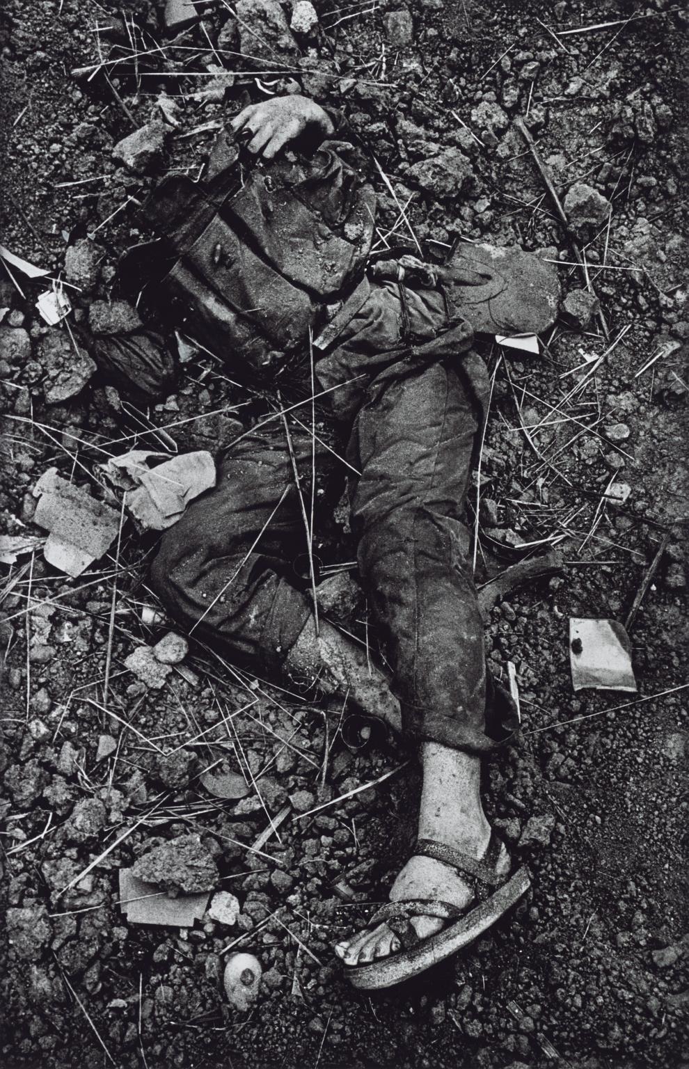 Halott észak-vietnami katona