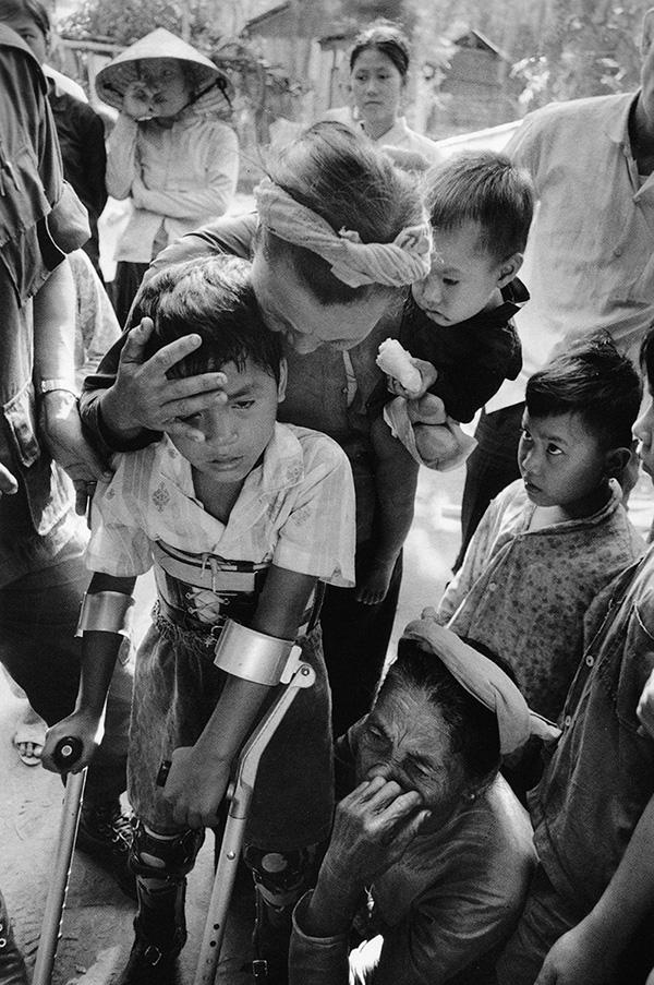 Lau Nguyen családja körében