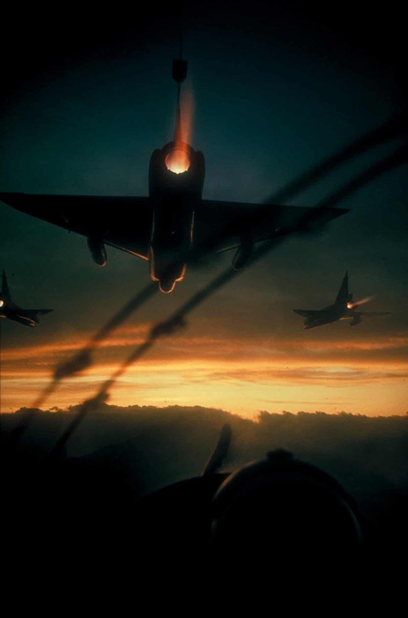 F-102-es vadászok őrjáraton