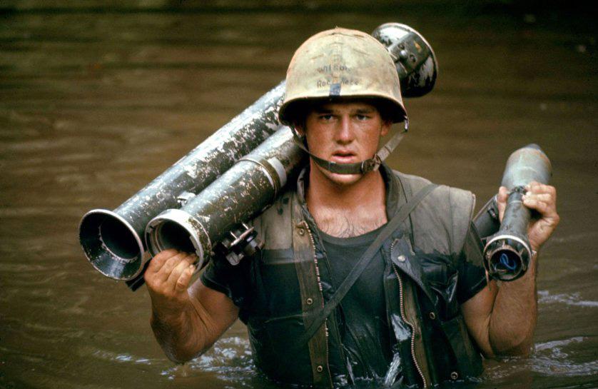 John Wilson tengerészgyalogos közlegény. A kép készítése után szűk két héttel esett el...