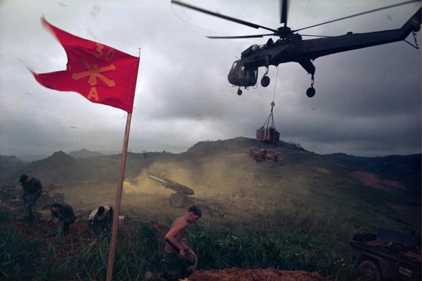 Ideiglenes tűztámogató bázis a Pegasus-hadművelet során