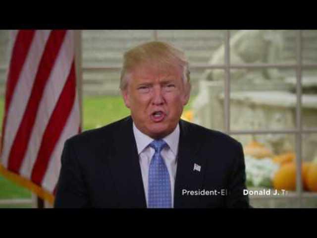 """""""Egy hangon és egy szívvel"""": Hálaadás napi üzenet Donald Trumptól (magyar felirattal)"""