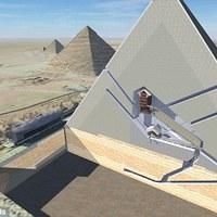 Kozmikus sugarakkal kutatják az egyiptomi piramisok és a jeruzsálemi Templom-hegy titkait