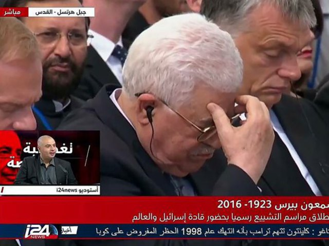 Halálos fenyegetést kapott Abbasz, aki Orbán Viktor mellett sírt