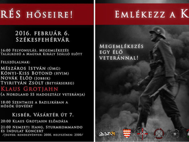 """Tyirityán Zsolt: """"Dicsőség a Waffen-SS-nek"""""""