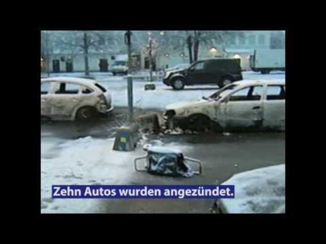 Erről beszélt Trump: Sérültek, kiégett autók - Stockholm csata után (magyar felirattal)
