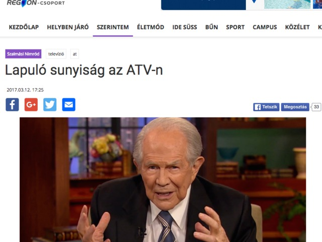 Plágium: Lemásolt cikkben becsmérlik az ATV műsorát