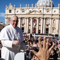 A pápa szerint közel a vég?