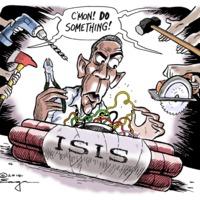 Röhögjön Ön is az ISIS-en!