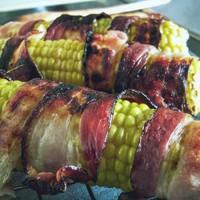 Grillezett csemegekukorica baconnel