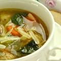Olasz húsgombóc leves
