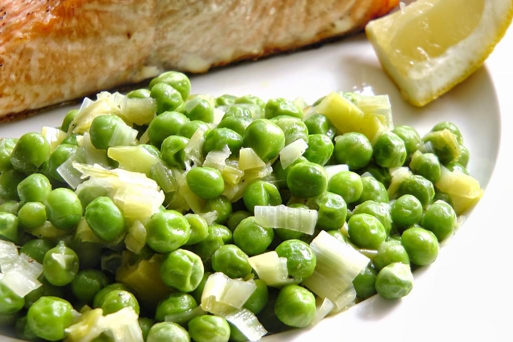 zöldborsó recept képpel
