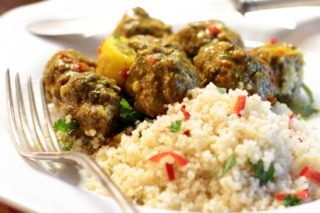 marokkói húsgombóc tagine recept